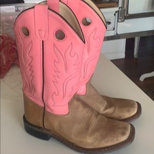 Cow girl boots youth